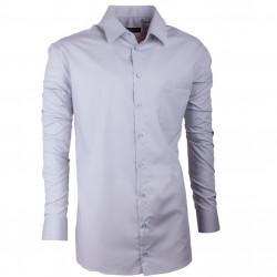 Pánská košile Assante regular fit šedá 30172