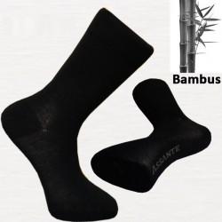 Černé bambusové ponožky pánské Assante 70901