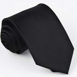 Černá kravata Greg 99900