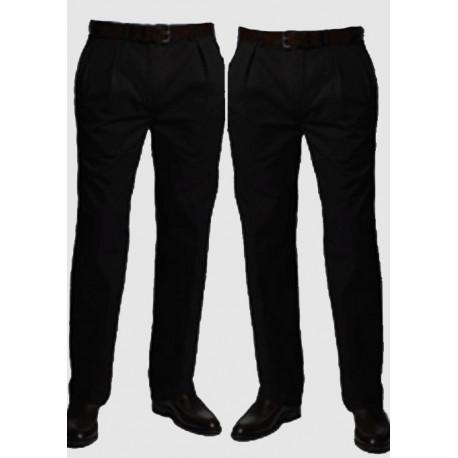 Černé extra prodloužené pánské splečenské kalhoty na výšku 188 – 194 cm  Falkom 160103 788bfd975d