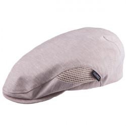 Béžová čepice bekovka Mes 81208