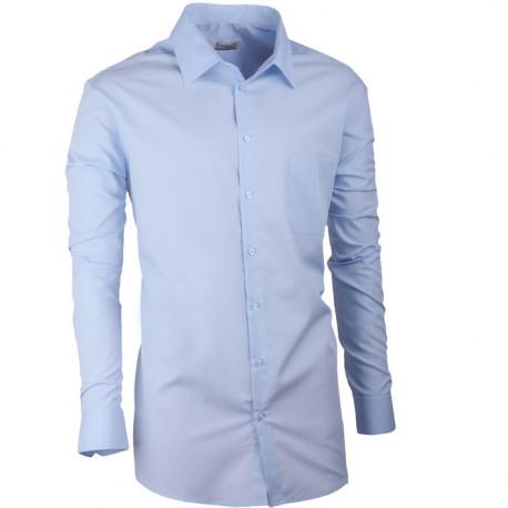 Modrá pánská košile regular fit s dlouhým rukávem Aramgad 30481