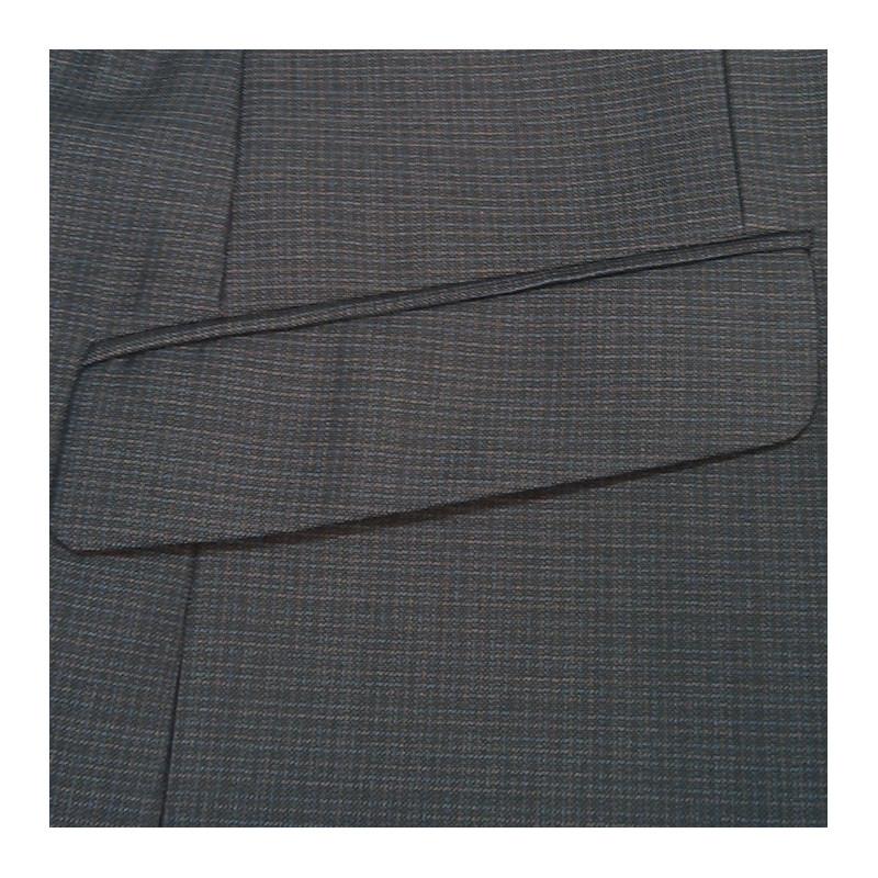 Pánský šedý oblek zkrácený na výšku 170 - 176 cm Galant 160600 7c2f94bfd5