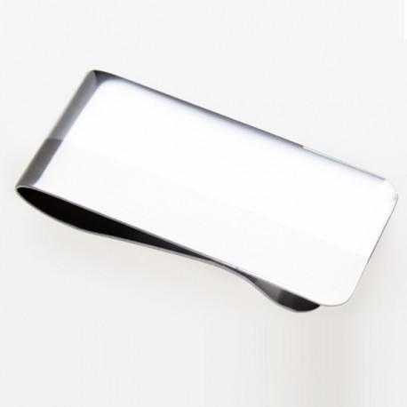Spona ze stříbřitého kovu na peníze 90471
