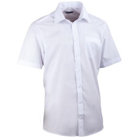 Bílá pánská košile rovná Aramgad 40031