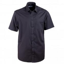 Černá pánská košile rovná Aramgad 40132