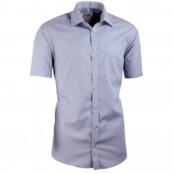 Šedá košile vypasovaná Aramgad 40133