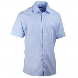 Pánská modrá košile rovná Assante 40415