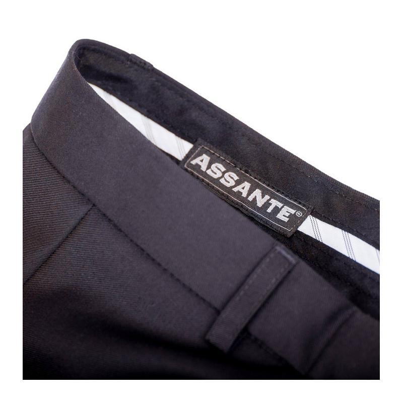 f444fd1fb78 Černé pánské společenské kalhoty na výšku 176 – 182 cm Assante 60501