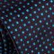 Tyrkysovohnědá kravata Greg 91203
