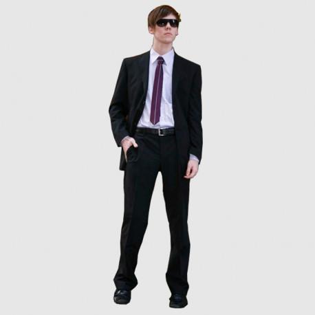 Modrý pánský oblek prodloužený na výšku 182 - 188 cm faVorite 160639