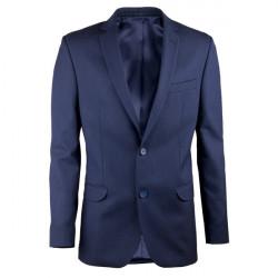 Modré pánské sako na výšku 176 - 182 cm Assante 60003