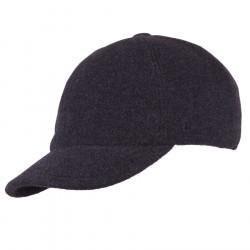 Pánská zimní šedá čepice s naušníky Assante 85315