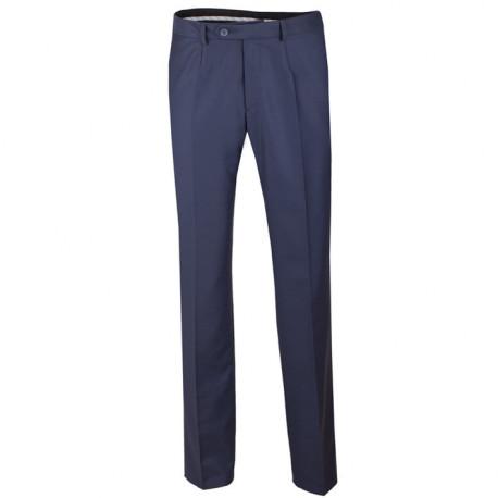 Nadměrné extra prodloužené pánské modré kalhoty společenské na výšku 188 – 194 cm Assante 60526