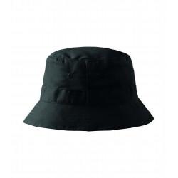 Letní bavlněný černý klobouk Adler 81182