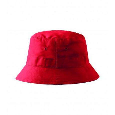 Letní bavlněný červený klobouk Adler 81185