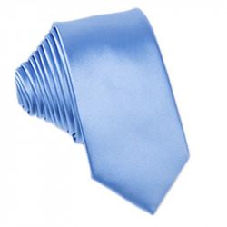 Modrá kravata jednobarevná Greg 99944