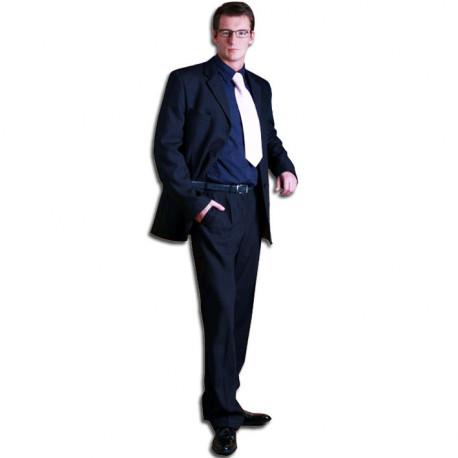 Modrý pánský oblek prodloužený na výšku 188 - 194 cm faVorite 160638