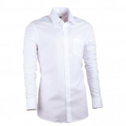 Bílá pánská košile Assante vypasovaná 30004