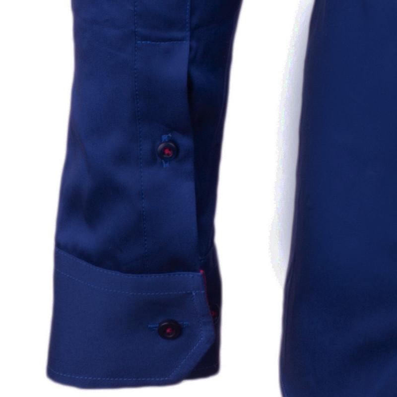 e2a75a2c5ea Nadměrná košile 100% bavlna kobaltová Assante 31040