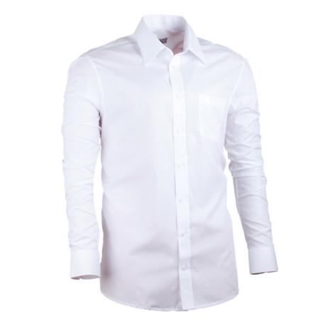 Nadměrná košile rovná bílá Assante 31011
