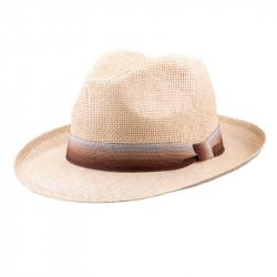 Béžový pánský letní klobouk Assante 80004