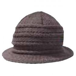 Šedý klobouk dámský Pletex 87590