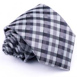 Šedá pánská kravata Greg 91004