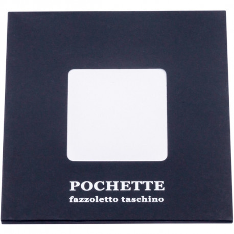 Bílý kapesníček do saka Assante 90609