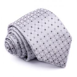 Šedá kravata Greg 91003