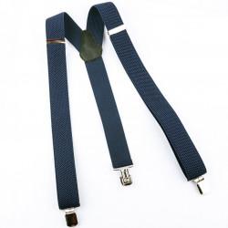 Ocelově modré šle 90182