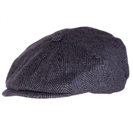 Pánská čepice černá bekovka Assante 85226