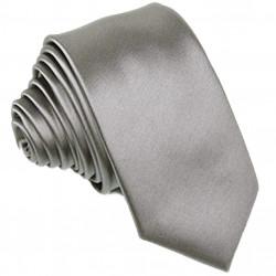 Šedá kravata Greg 99114