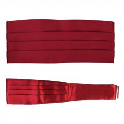 Frakový pás - šerpa tmavě červená Assante 90416