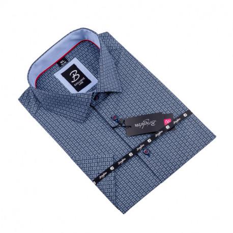 Košile Brighton modročerná 109807