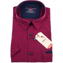 Červenočerná nadměrná košile Tonelli 110844