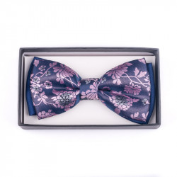 Pánský motýlek barva fialovo modrá Assante 90233