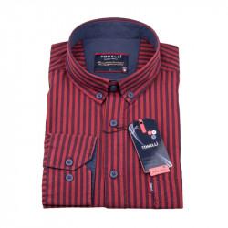 Červená pruhovaná košile Tonelli 110973