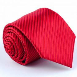 Pánská pruhovaná červená kravata Greg 93005