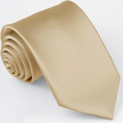 Jednobarevná šedá pánská kravata svatební Greg 99934
