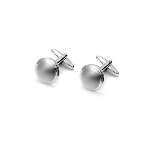 Manžetové knoflíčky stříbrné barvy Assante 90541