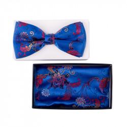 Pánský motýlek barva modrá Assante 90318