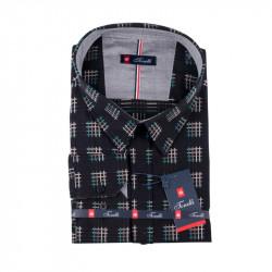 Černošedá košile Tonelli 110990