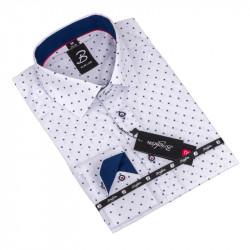 Košile Brighton bílomodrá 110000