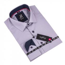 Košile Brighton šedomodrá 110017