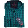 Pánská košile zelená dlouhý rukáv Tonelli 110928