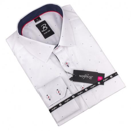Nadměrná košile bílá Brighton 110039