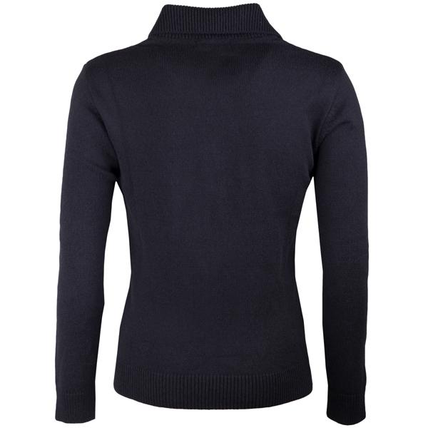 Černý pánský svetr na zip